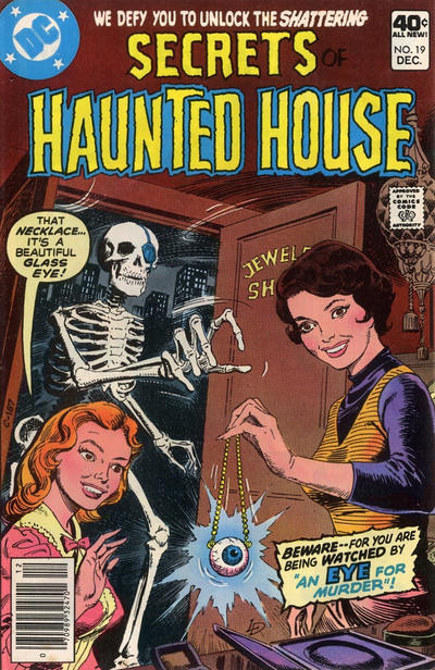 Cover for Secrets of Haunted House (DC, 1975 series) #19