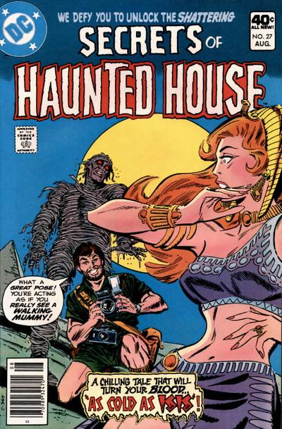 Cover for Secrets of Haunted House (DC, 1975 series) #27