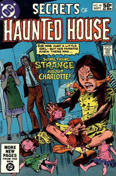 Cover for Secrets of Haunted House (1975 series) #40