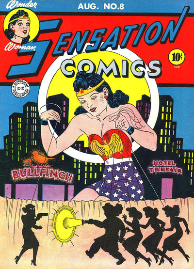 Cover for Sensation Comics (DC, 1942 series) #8