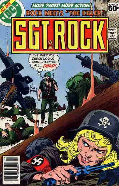 Cover for Sgt. Rock (DC, 1977 series) #322
