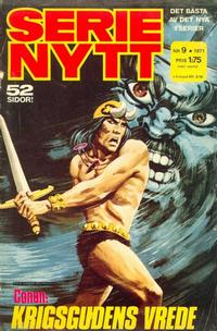 Cover Thumbnail for Serie-nytt [delas?] (Semic, 1970 series) #9/1971