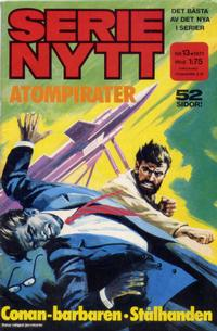 Cover Thumbnail for Serie-nytt [delas?] (Semic, 1970 series) #13/1971