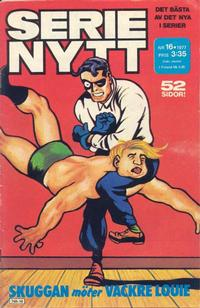 Cover Thumbnail for Serie-nytt [delas?] (Semic, 1970 series) #16/1977