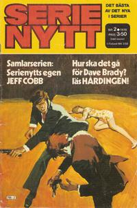 Cover for Serie-nytt [delas?] (1970 series) #2/1978