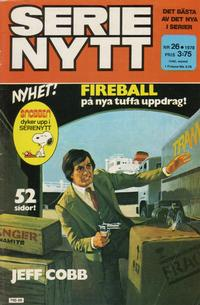 Cover Thumbnail for Serie-nytt [delas?] (Semic, 1970 series) #26/1978