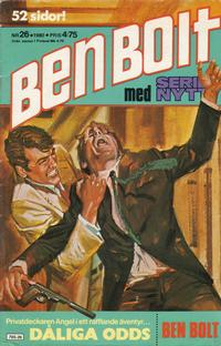 Cover Thumbnail for Serie-nytt [delas?] (Semic, 1970 series) #26/1980