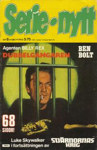 Cover Thumbnail for Serie-nytt [delas?] (Semic, 1970 series) #6/1981