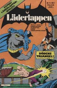 Cover Thumbnail for Läderlappen (Semic, 1976 series) #11/1977