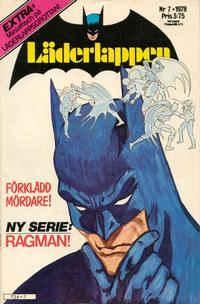 Cover Thumbnail for Läderlappen (Semic, 1976 series) #7/1978