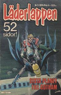 Cover Thumbnail for Läderlappen (Semic, 1976 series) #2/1979