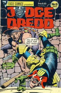 Cover Thumbnail for Judge Dredd (Eagle Comics; Pingvinförlaget, 1984 series) #8/1985