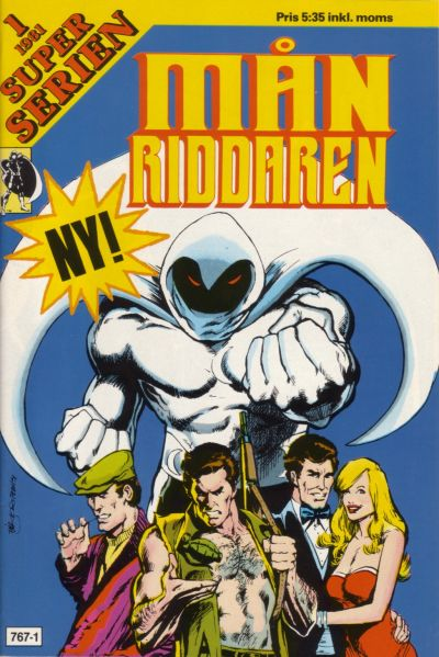 Cover for Superserien [Månriddaren] (1981 series) #1/1981