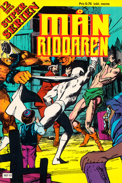 Cover for Superserien [Månriddaren] (1981 series) #12/1982