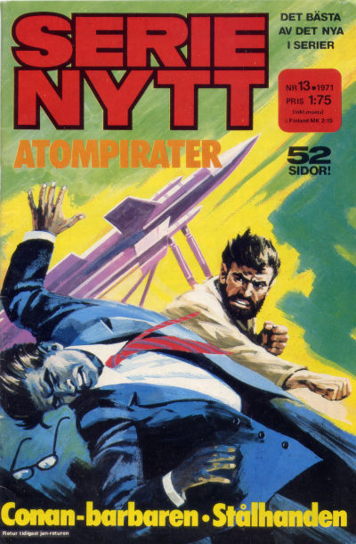 Cover for Serie-nytt [delas?] (Semic, 1970 series) #13/1971