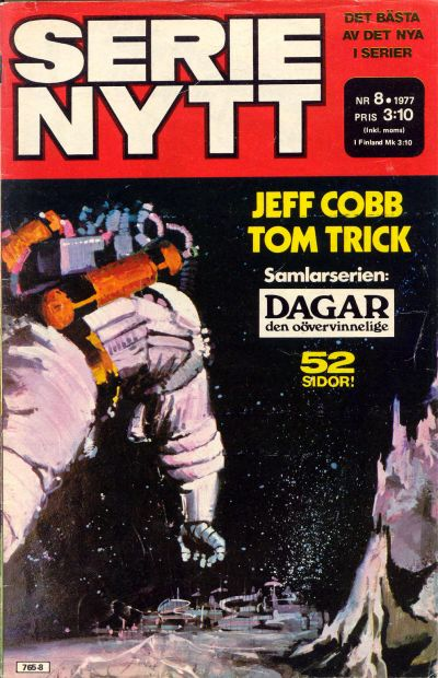 Cover for Serie-nytt [delas?] (Semic, 1970 series) #8/1977