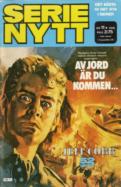 Cover for Serie-nytt [delas?] (Semic, 1970 series) #11/1978