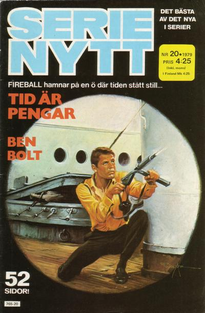 Cover for Serie-nytt [delas?] (Semic, 1970 series) #20/1979