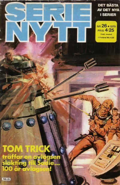 Cover for Serie-nytt [delas?] (Semic, 1970 series) #26/1979