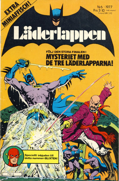 Cover for Läderlappen (Semic, 1976 series) #6/1977
