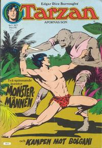 Cover Thumbnail for Tarzan (Atlantic Förlags AB, 1977 series) #3/1977