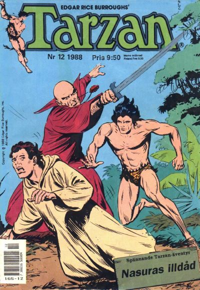 Cover for Tarzan (1977 series) #12/1988