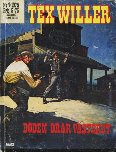 Cover for Tex Willer (1977 series) #4/1979