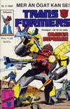 Cover for Transformers (Atlantic Förlags AB, 1987 series) #3/1988
