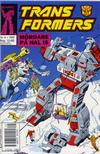 Cover for Transformers (Atlantic Förlags AB, 1987 series) #8/1989