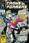 Cover for Transformers (Atlantic Förlags AB, 1987 series) #12/1989