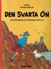 Cover Thumbnail for Tintins äventyr (Carlsen/if [SE], 1972 series) #25 - Den svarta ön