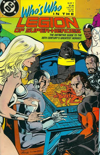 Cover for Who's Who in the Legion of Super-Heroes (1988 series) #5