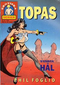 Cover for Topas (1988 series) #41 - Svarta hl