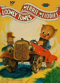 Cover for Looney Tunes and Merrie Melodies Comics (Dell, 1941 series) #9