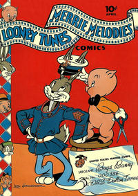 Cover Thumbnail for Looney Tunes and Merrie Melodies Comics (Dell, 1941 series) #18
