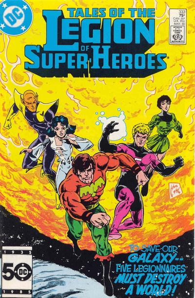Cover for Tales of the Legion of Super-Heroes (1984 series) #333