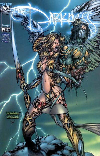 Cover for The Darkness (Image, 1996 series) #14