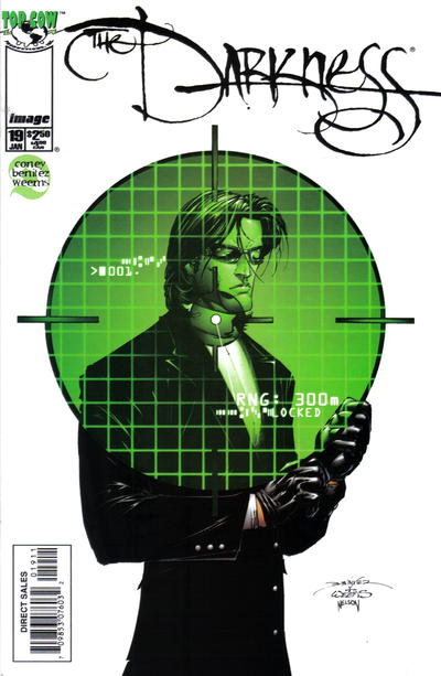 Cover for The Darkness (Image, 1996 series) #19