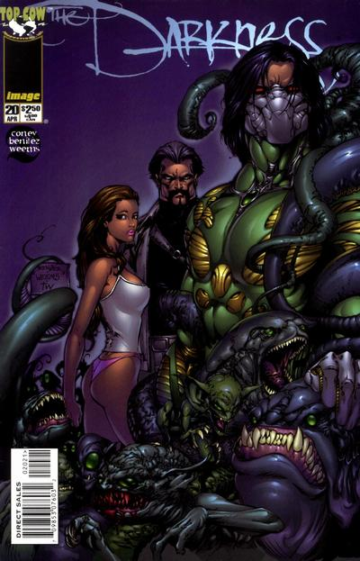 Cover for The Darkness (Image, 1996 series) #20 [Alternate Cover]
