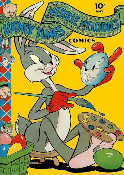 Cover for Looney Tunes and Merrie Melodies Comics (Dell, 1941 series) #19