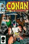 Cover for Conan the Barbarian (Marvel, 1970 series) #160 [Newsstand Edition]