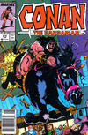 Cover Thumbnail for Conan the Barbarian (1970 series) #219 [Newsstand Edition]