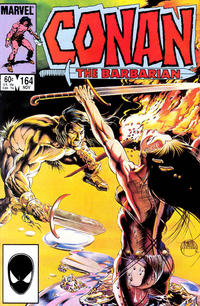 Cover Thumbnail for Conan the Barbarian (Marvel, 1970 series) #164 [Direct Edition]