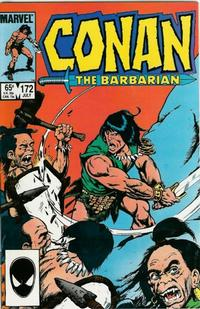 Cover for Conan the Barbarian (Marvel, 1970 series) #172