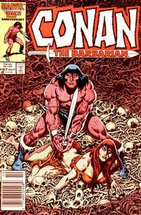 Cover Thumbnail for Conan the Barbarian (Marvel, 1970 series) #187 [Newsstand Edition]