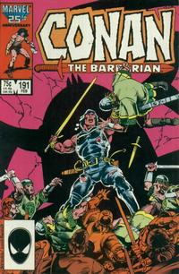 Cover for Conan the Barbarian (Marvel, 1970 series) #191 [Newsstand Edition]