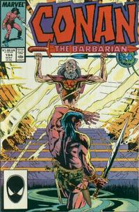 Cover Thumbnail for Conan the Barbarian (Marvel, 1970 series) #194 [Direct Edition]