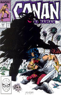 Cover Thumbnail for Conan the Barbarian (Marvel, 1970 series) #209 [Direct Edition]