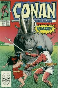 Cover Thumbnail for Conan the Barbarian (Marvel, 1970 series) #210 [Direct Edition]