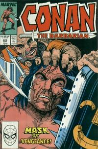 Cover Thumbnail for Conan the Barbarian (Marvel, 1970 series) #222 [Direct Edition]